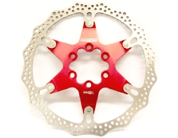 Imperial Disco Rotor 160mm rosso